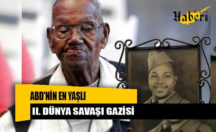 ABD'nin en yaşlı II. Dünya Savaşı gazisi 112'inci doğum gününü kutladı