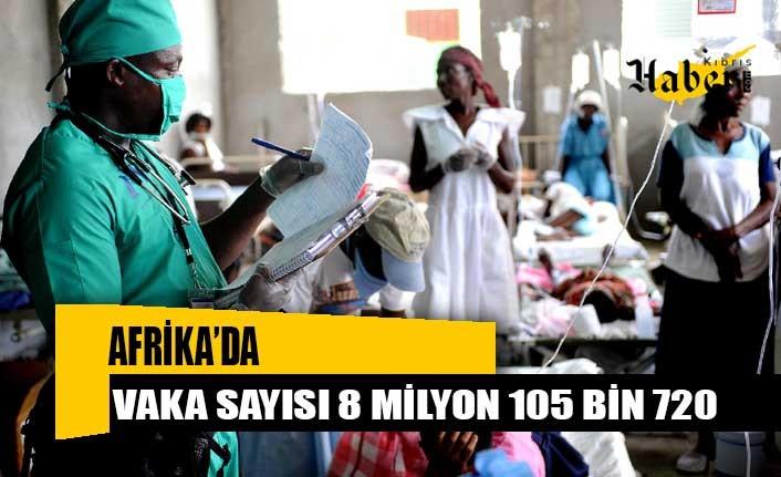Afrika'da can kaybı sayısı 203 bini aştı