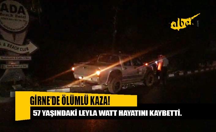 Aracın çarptığı yaya hayatını kaybetti