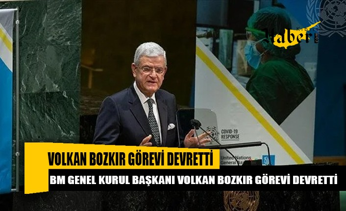 BM Genel Kurul Başkanı Volkan Bozkır görevi devretti