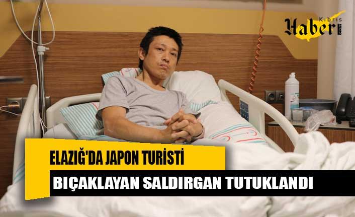Elazığ'da Japon turisti bıçaklayan saldırgan tutuklandı