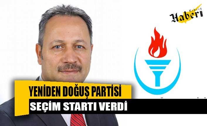 Enver Öztürk, YDP olarak pazartesi itibari ile seçim startı veriyoruz