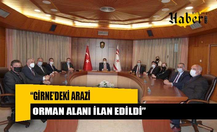 """""""Girne'deki arazi orman alanı ilan edildi"""""""