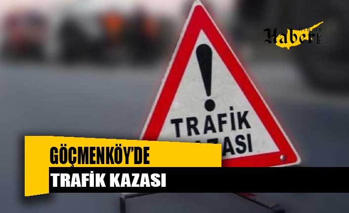 Göçmenköy'de sorunlu kavşakta yine kaza