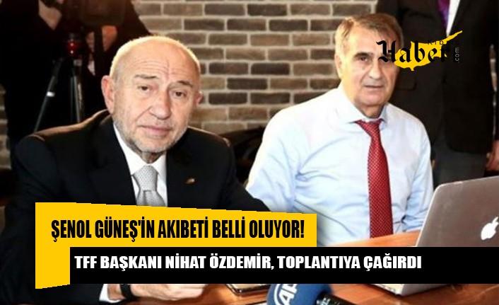 Güneş, yarın TFF Başkanı Nihat Özdemir'le görüşecek.