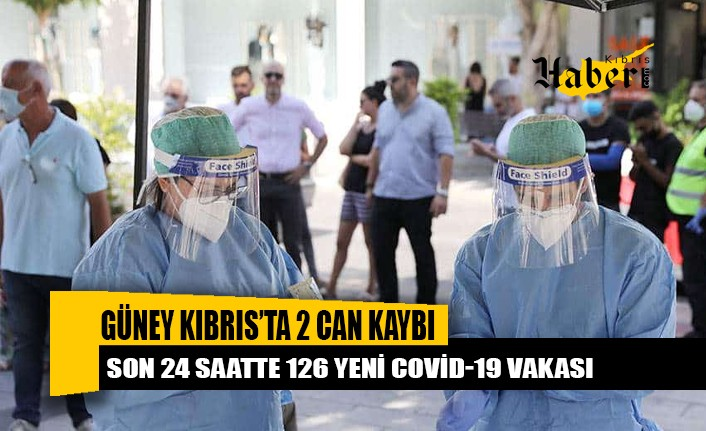 Güney Kıbrıs'ta 126 yeni Covid-19 vakası, 2 can kaybı