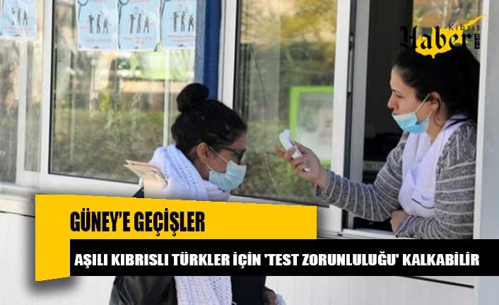 Güney'e geçişler: Aşılı Kıbrıslı Türkler için 'test zorunluluğu' kalkabilir