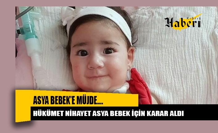 Hükümet nihayet Asya Bebek için karar aldı
