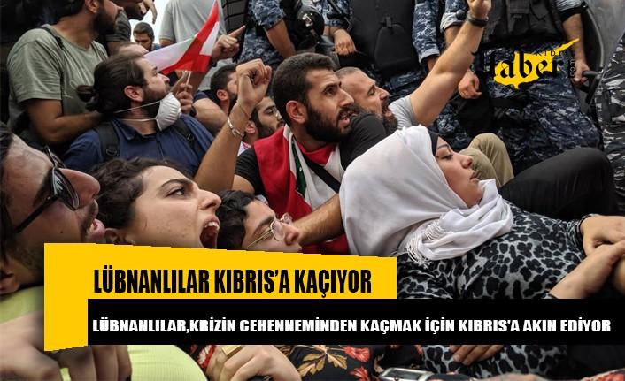 Lübnanlılar krizden Kıbrıs'a kaçıyor