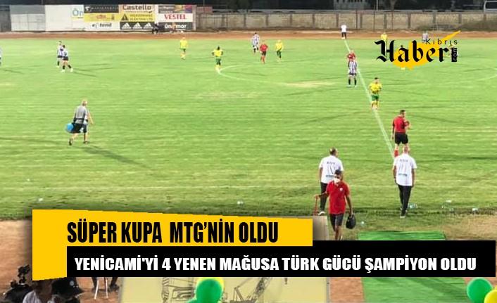 MTG bulduğu peş peşe gollerle mücadeleyi 4-0 kazandı