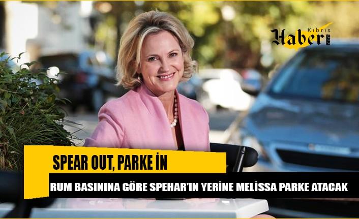 Rum basınına göre Spehar'ın yerine Melissa Parke atanacak