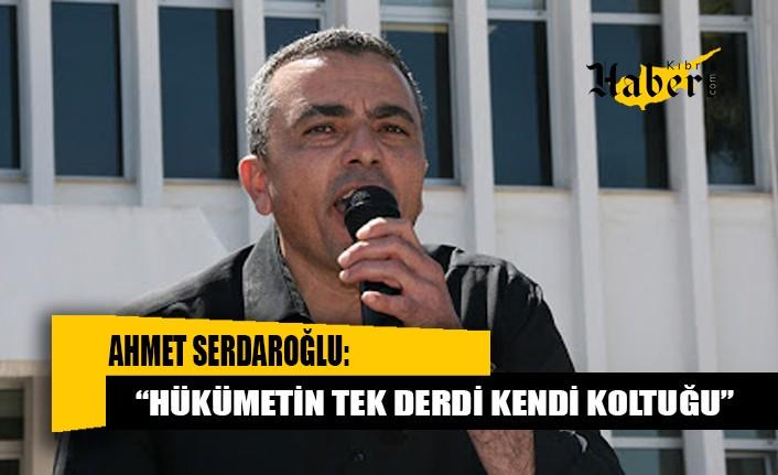 Serdaroğlu: Bu konu bir toplantıda çözülebilecek bir durumdur