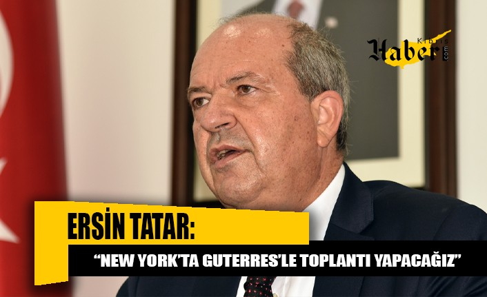 Tatar İzmir'deki temaslarını tamamlayarak KKTC'ye döndü