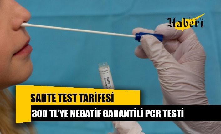 Türkiye'de 300 TL'ye negatif garantili test