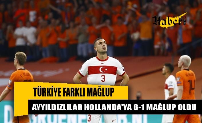 Türkiye farklı mağlup oldu