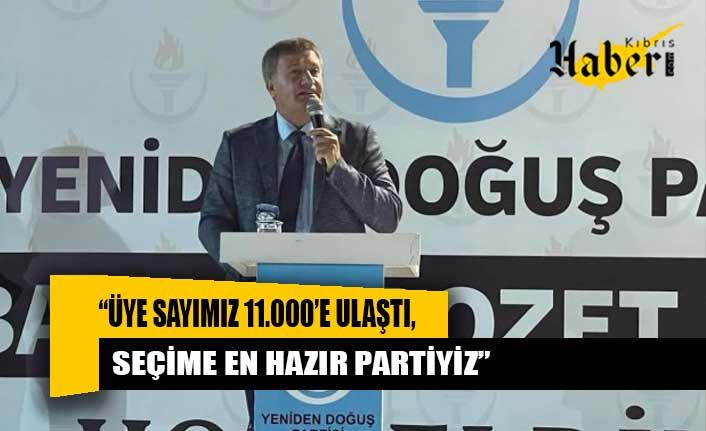 """""""Üye sayımız 11.000'e ulaştı, seçime en hazır partiyiz"""""""