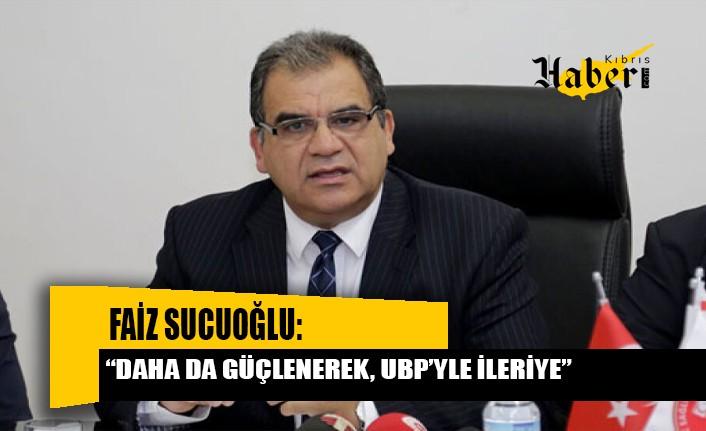 """""""UBP'nin içerisinde olmayacağı hiçbir hükümet modeli mümkün değildir"""""""