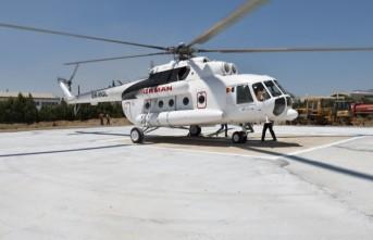 Helikopter moral ve güç verdi