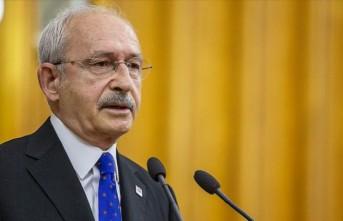 Kılıçdaroğlu, Akıncı'ya 20 Temmuz tebriği gönderdi