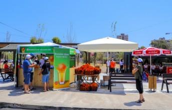 Güzelyurt Belediyesi, Maraş'ta Portakal Ve Portakal Suyu Dağıttı