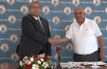 Gazimağusa Belediyesi'nin İsmet İnönü bulvarı 2. Etap düzenleme projesi'nin ihale sözleşmesi imzalandı