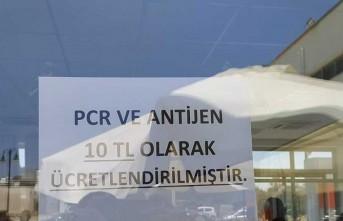 Bakanlığın ücretsiz testlerine 10 TL fiyat biçtiler!