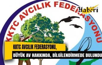 KKTC Avcılık Federasyonu, bilgilendirmede bulundu