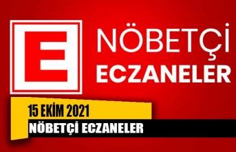 Nöbetçi Eczaneler / 15 Ekim 2021