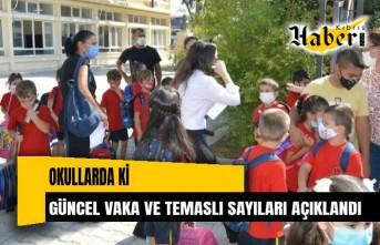 Okullardaki güncel vaka ve temaslı sayıları açıklandı