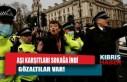 İngiltere'de aşı karşıtı protestoya müdahale:...