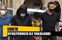 Girne'de uyuşturucu ile yakalandı