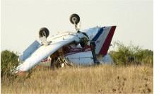 ABD'de uçak düştü üç ölü