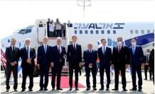 """Filistin Başkanı: """"İsrail'e ait uçağın bugün BAE'e inmesi bizi derinden üzmektedir"""