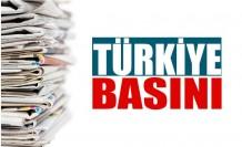 Türkiye Gazetelerinin Manşetleri / 25 Ağustos Salı