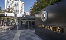 """Trkiye Dışişleri Bakanlığı'ndan """"MED7 Zirvesi Ortak Bildirisi""""ne tepki"""