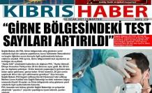 """PİLLİ: """"GİRNE BÖLGESİNDEKİ TEST SAYILARI ARTIRILDI"""""""