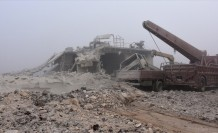 Esed rejimi Suriye'deki iç savaşta 81 bin 916 kez varil  bombası kullandı