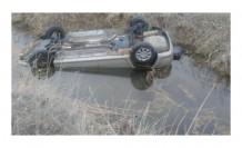 Kayseri'de sulama kanalına devrilen otomobildeki aynı aileden 4 kişi öldü