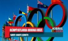 Olimpiyatlarda korona krizi: Sayı 148'e çıktı