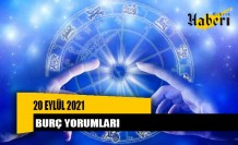 20 Eylül 2021 günlük burç yorumları