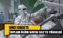 Güney Kıbrıs'ta 78 yeni vaka, 1 ölüm!