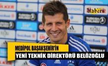 Medipol Başakşehir'in yeni teknik direktörü Emre Belözoğlu oldu