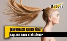 Şampuanlarda bulunan sülfat, Saçlara nasıl etki ediyor?