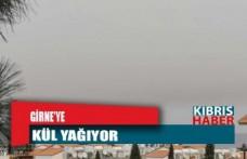 Girne'ye kül yağıyor!
