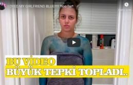 Kız Arkadaşını 'Şaka Amaçlı' Maviye Boyayan YouTuber, Sosyal Medyada Topa Tutuldu
