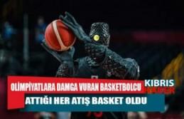 Olimpiyatlara damga vuran basketbolcu robot! Attığı her atış basket oldu