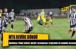 Mağusa Türk Gücü, maç öncesinde adeta revire döndü