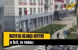 Rusya'da üniversiteye silahlı saldırıda bilanço...