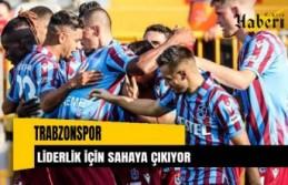 Trabzonspor liderlik için sahaya çıkıyor