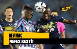 ÖZET   Trabzonspor 3-1 Fenerbahçe